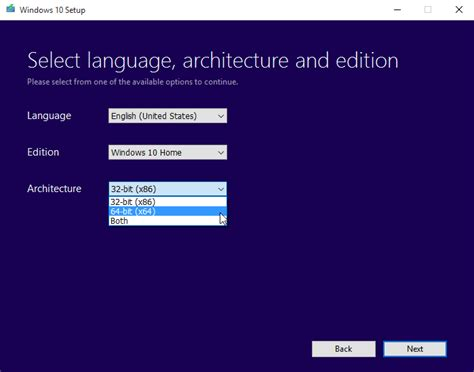 choose language html template how to perform a clean install of windows 10 from windows