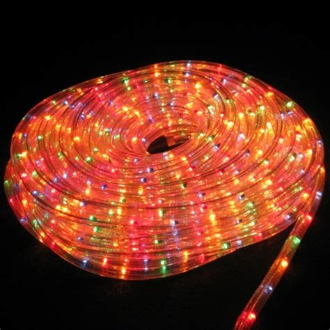 25m multi chaser rope light