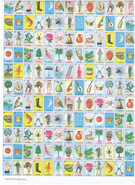 tablas de loteria mexicana para imprimir como se hacen las tablas de loteria de pocitos imagui
