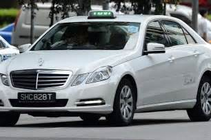 Mercedes Singapore Third Taxi Firm Raising Fares For Mercedes Cabs Singapore