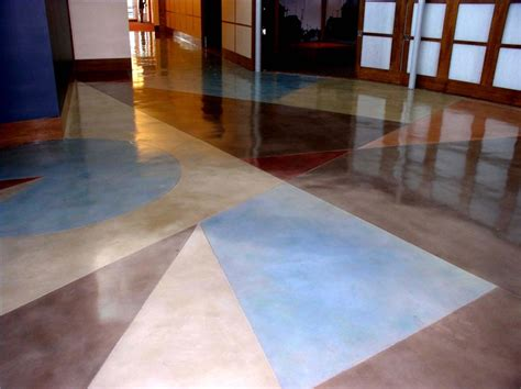 prepping to stain concrete in the kitchen how to stain an interior concrete floor ehow