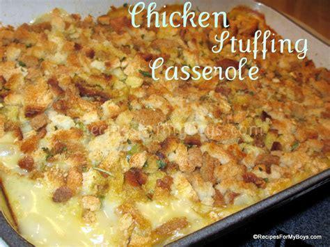chicken and stuffing bake recipe dishmaps