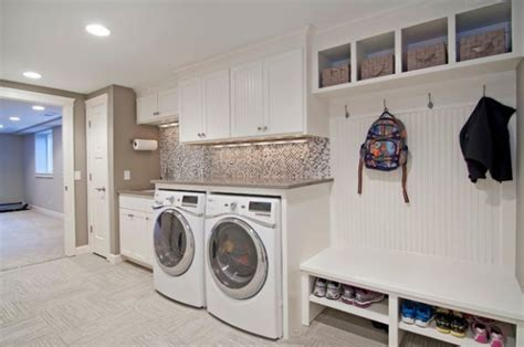 laundry mud room designs 33 laundry room shelving and storage ideas