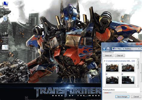 download theme android transformers transformers 3 theme download