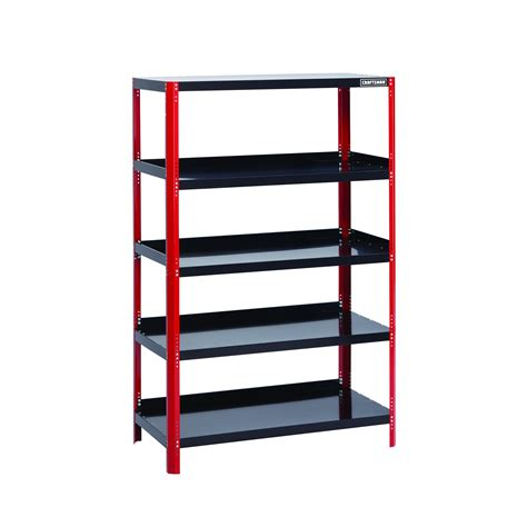 36 quot wide steel black shelving unit organize better