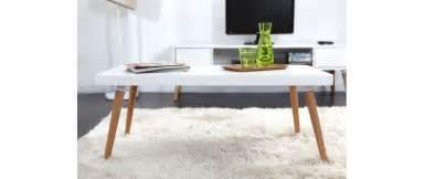 table basse design scandinave totem miliboo
