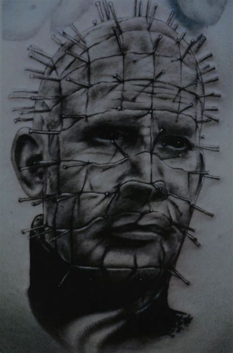 pinhead tattoo designs 50 great look spooky pinhead tattoos golfian