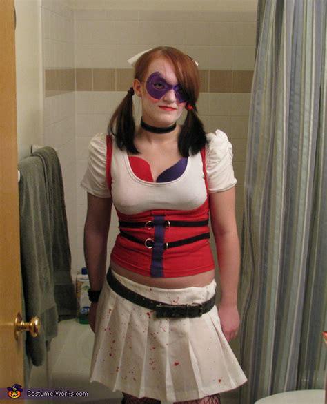 Handmade Harley Quinn Costume - harley quinn costume