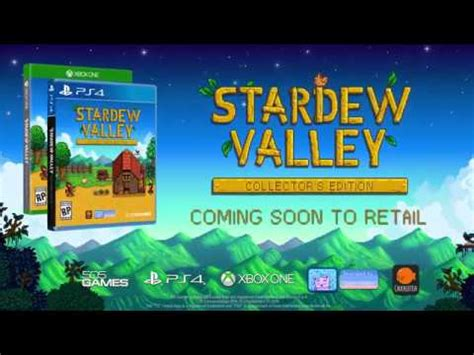 Kaset Ps4 Stardew Valley Collector S Edition stardew valley collector s edition announced for ps4 xbox one