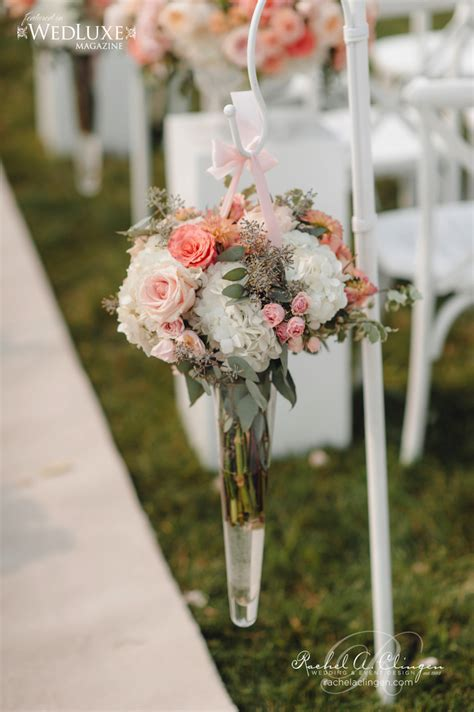 Wedding Aisle With Flowers by Caleb And Chelsie S Gorgeous Barn Wedding Wedding Decor