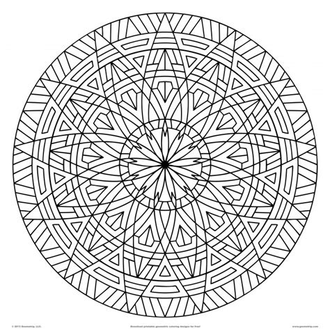 Printable Geometric Design Coloring Pages Az Coloring Pages Design Coloring Pages