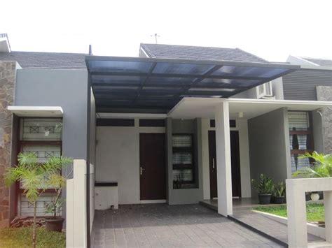 desain atap rumah desain kanopi rumah minimalis sederhana bahan atap seng