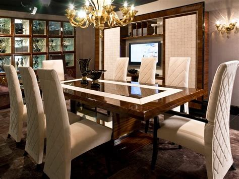 designer dining room tables luxury modern dining table design ideas 4 home ideas