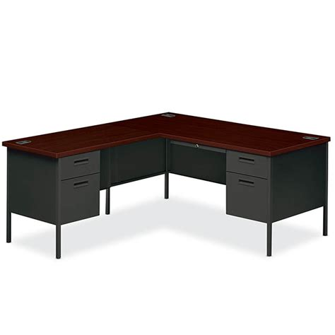 Office Desk Rental Metro Classic L Shape Desk Left Arthur P O Hara