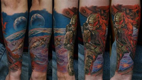 awesome video game tattoos for the inked up geeks out