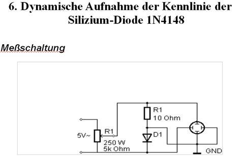 1n4148 diode kennlinie 1n4148 diode kennlinie 28 images schaltungen und bauelemente schaltungen und bauelemente