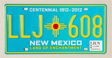New Mexico Vanity Plates by New Mexico License Plates Of The States