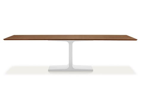 Wooden Rectangular Dining Table Rectangular Wooden Dining Table Palace Wood By Sovet Italia Design Lievore Altherr Molina