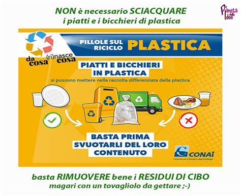 Raccolta Differenziata Bicchieri Di Plastica Dove Si Buttano I Piatti Di Plastica Sporchi Pianeta