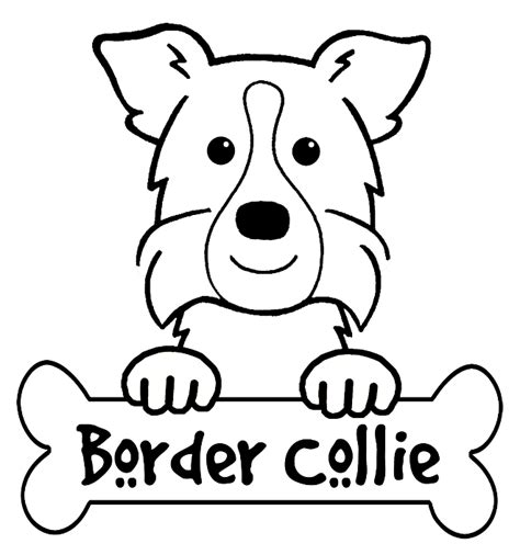 91 coloring pages of collie dogs black and white