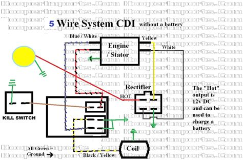8 pin ac cdi box wiring diagram 110 atv wiring