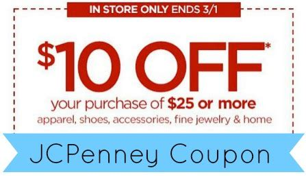 haircut coupons near me 2014 jcpenney coupon 10 off 25 in store purchase southern