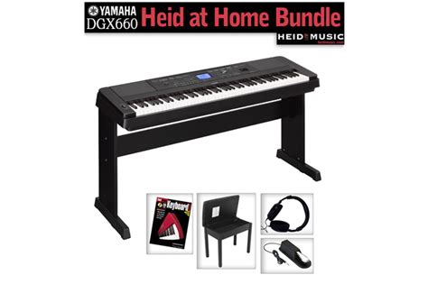 Keyboard Yamaha Dgx 660 yamaha dgx 660 heid at home digital piano bundle heid