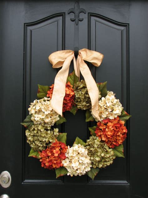Front Door Wreaths For Fall Items Similar To Fall Autumn Wreaths Wreaths Fall Decor Front Door Wreaths Shabby Chic Fall