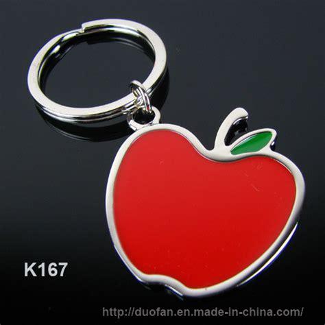 apple keychain china apple key chain k723 china apple keychain metal