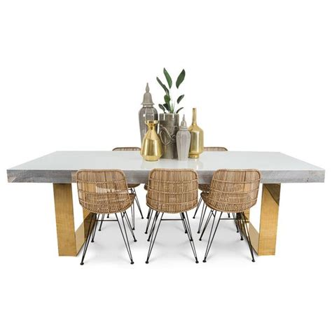 dining table with gold legs modern dining tables modshop