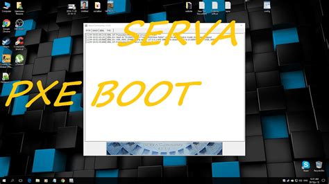 install windows 10 pxe how to download install and configure serva pxe and then