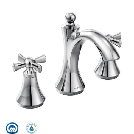 moen bath fixtures direct moen t4524 chrome wynford handle widespread bathroom faucet less valve faucetdirect