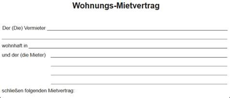 Mietvertrag Muster Wohnung 4827 by 3 Kostenlose Mietvertrag Vorlagen Als Pdf