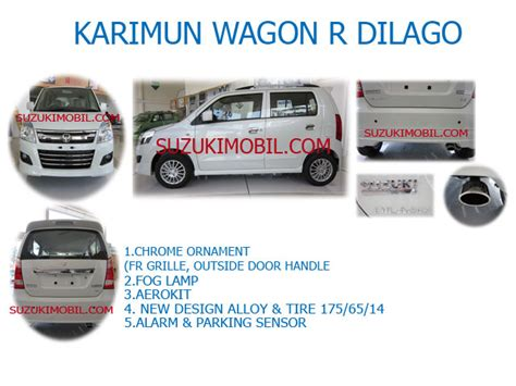 Knapot Tailpipe Extension Suzuki Wagon R karimun wagon r dilago