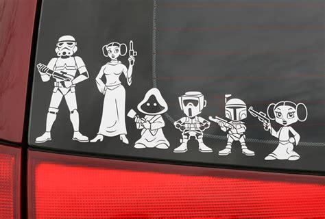 Auto Sticker Star Wars by Levantateyesta Personalizate