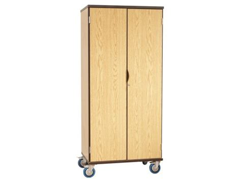 mobile storage cabinet with doors 4 shelf mobile storage