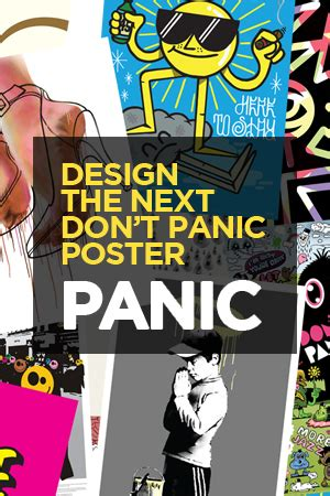 design brief of a panic button design the poster