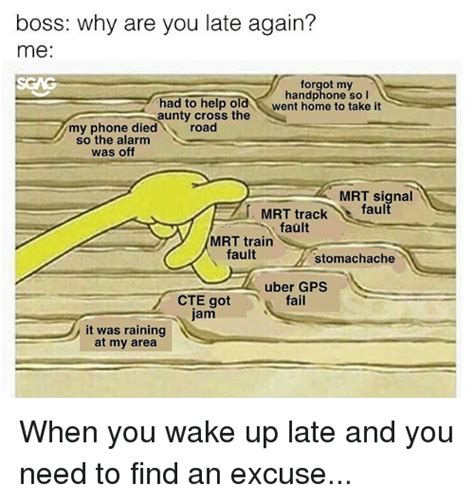 Excuse Letter Waking Up Late 25 best memes about died died memes