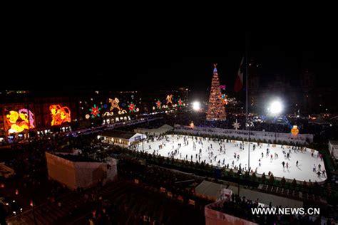 imagenes del zocalo adornado de navidad el mundo celebra la navidad spanish china org cn 中国最权威的西班牙