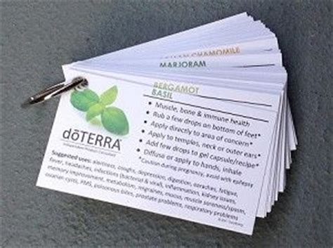 Business Card Essential Information