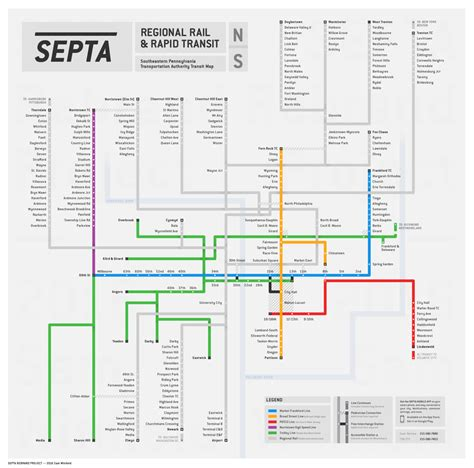 septa regional rail map unofficial map septa regional rail transit maps