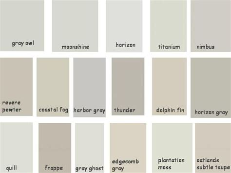 gray color shades benjamin moore gray and revere pewter on pinterest