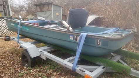12ft jon boat with trailer coleman crawdad 12ft jon boat with trailer and boats