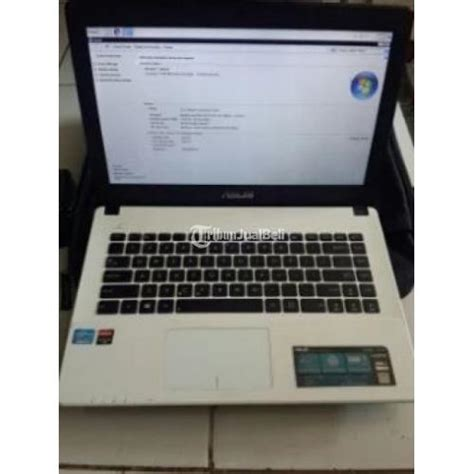 Ram Second 2gb laptop asus x452c white second ram 2gb 14 inci harga murah