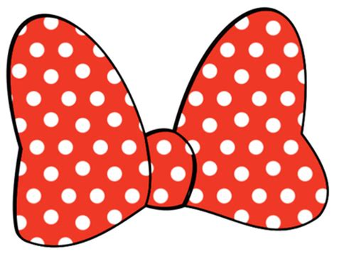 minnie mouse bow outline cliparts