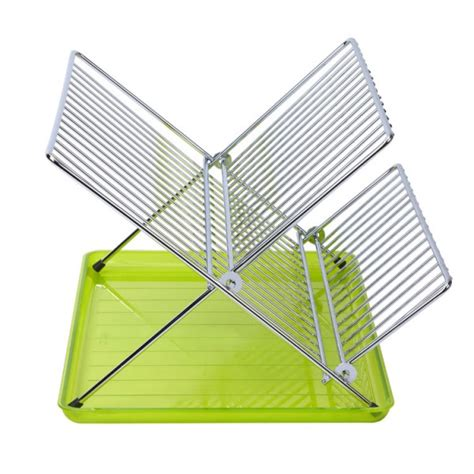 folding drainer rack new foldable dish drainers made of stainless steel or