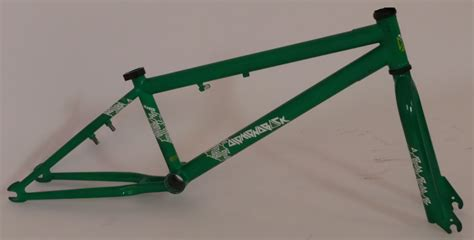 Frame Bmx Fork bmx bike frame and forks taken from a brand new