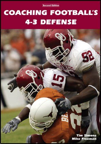 coaching football s 50 defense buy special books coaching football s 4 3 defense on