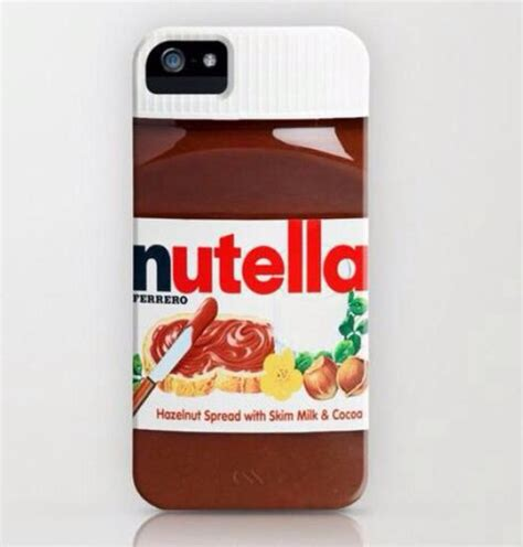 Nutella Jar Iphone All Hp nutella chocolate jar cover for iphone 4g 4s or iphone 5 us seller