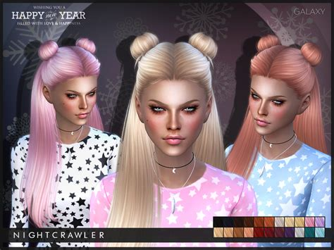 sims 3 hair braid tsr the sims resource over nightcrawler sims nightcrawler galaxy